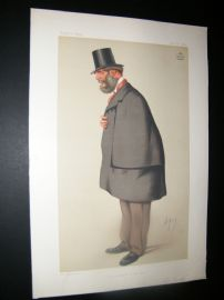 Vanity Fair Print 1875 Lord Forester